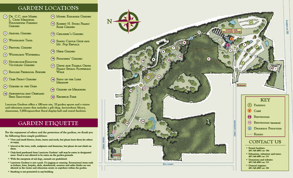 Beau To View And Print The Lauritzen Gardens Map In PDF Format, Please Click  Here.